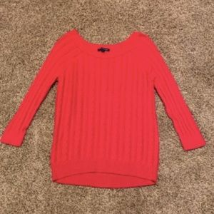 American Eagle pink sweater